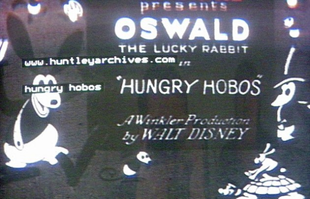 Oswald the Lucky Rabbit: Hungry Hobos
